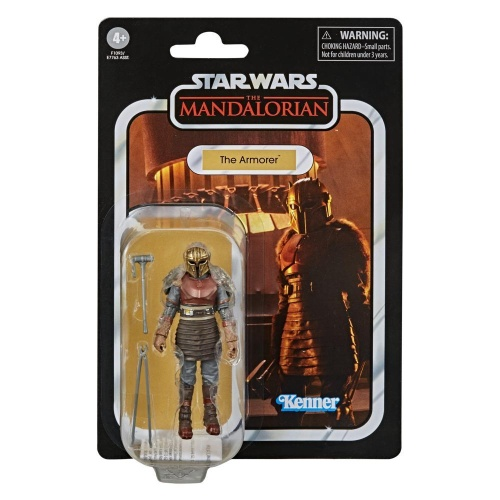 Hasbro F1093 Star Wars Vintage Collection The Mandalorian The Armorer Actionfigur 9,5 cm