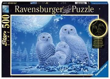 Ravensburger 16595 Eulen im Mondschein 500 Teile Starline Puzzle
