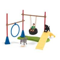 Schleich 42536 Farm World Spielspaß für Hunde