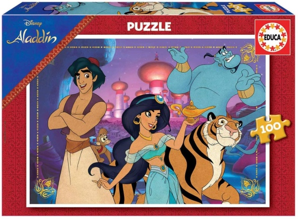 Educa 18639 Aladdin 100 Teile Puzzle
