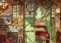 Educa 18005 Alte Garage 1500 Teile Puzzle