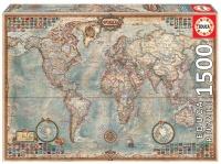 Educa 16005 Antike Weltkarte 1500 Teile Puzzle