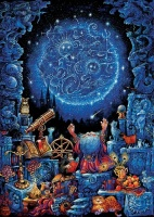 Educa 11766 Astrologe 1000 Teile Nachtleuchtpuzzle