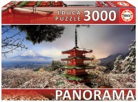 Educa 11763 Chureito Pagoda 3000 Teile Puzzle