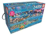 Educa 13434 Das grosse Leben 24000 Teile Puzzle