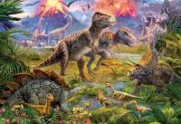 Educa 15969 Dinosaurier Treffen 500 Teile Puzzle