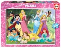 Educa 17723 Disney Prinzessin 500 Teile Puzzle