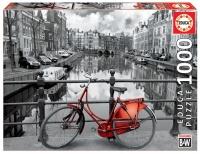 Educa 14846 Fahrrad in Amsterdam 1000 Teile Puzzle