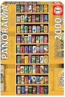 Educa 11053 Getränkedosen 2000 Teile Puzzle