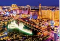 Educa 16761 Las Vegas 1000 Teile Nachtleuchtpuzzle