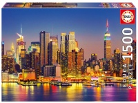 Educa 18466 Manhattan bei Nacht 1500 Teile Puzzle