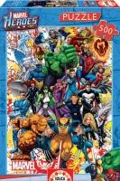 Educa 15560 Marvel Super Heroes 500 Teile Puzzle
