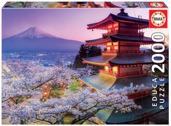 Educa 16775 Mount Fuji 2000 Teile Puzzle