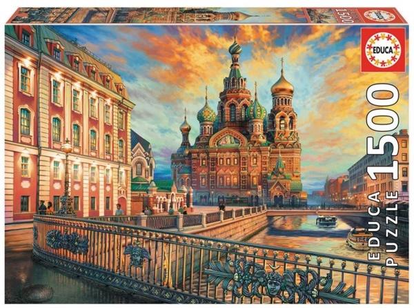Educa 18501 Sankt Petersburg 1500 Teile Puzzle