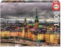 Educa 17664 Sicht auf Stockholm 1000 Teile Puzzle
