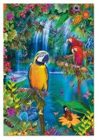 Educa 15512 Vögel in den Tropen 500 Teile Puzzle