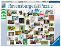 Ravensburger 16711 Fimmy Animals Collage 1500 Teile Puzzle