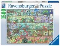 Ravensburger 16712 Zwerge im Regal 1500 Teile Puzzle