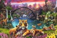Ravensburger 16719 Tiger in paradiesischer Lagune 3000...