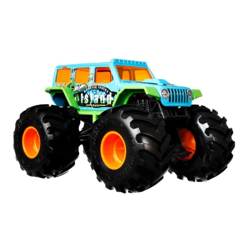 Mattel GTJ44 Hot Wheels Monster Trucks 1:24 Die-Cast 2018 Jeep Wrangler