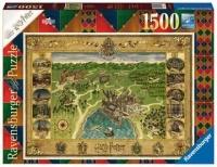 Ravensburger 16599 Hogwarts Karte 1500 Teile Puzzle