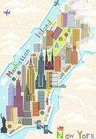 Ravensburger 16537 New York 99 Teile Puzzle