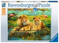 Ravensburger 16584 Löwen in der Savanne 500 Teile...