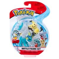 Pokemon Battle Figure Set Aquana, Mimigma und Kaumalat