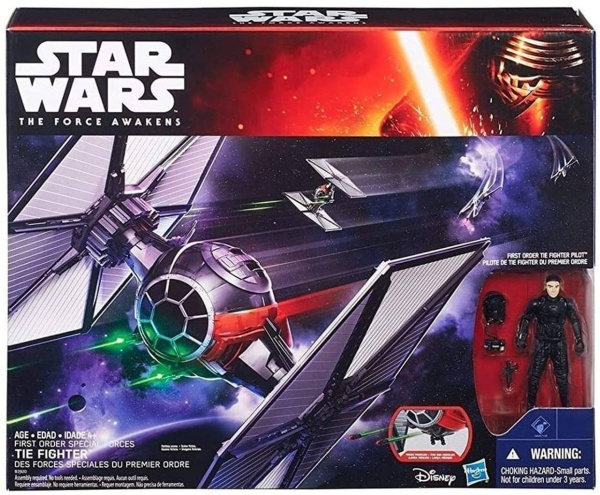 Hasbro B3920 Star Wars The Force Awakens, Tie Fighter mit Fighter Pilot
