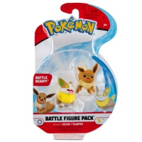 Pokemon Battle Figure Pack Evoli und Voldi