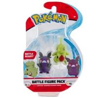 Pokemon Battle Figure Pack Larvitar und Morpeko...