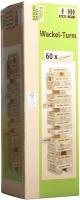 Natural Games 61053379 Wackelturm mit 60 Holzsteinen
