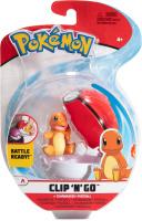 Pokemon Clip N Go Glumanda + Pokeball