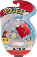 Pokemon Clip N Go Schiggy + Pokeball