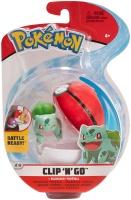 Pokemon Clip N Go Bisasam + Pokeball