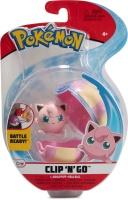 Pokemon Clip N Go Pummeluff + Heilball