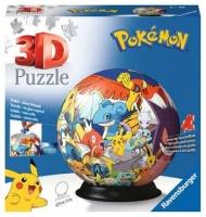 Ravensburger 11785 Pokemon Puzzle-Ball 72 Teile 3D Puzzle