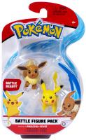 Pokemon Battle Figure Pack Pikachu + Evoli