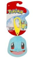 Pokemon Clip-On Plüsch Schiggy