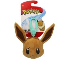Pokemon Clip-On Plüsch Evoli