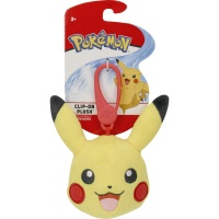 Pokemon Clip-On Plüsch Pikachu