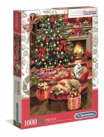 Clementoni 39580 Christmas by the Fire 1000 Teile Puzzle