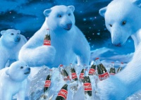 Schmidt 59913 Coca Cola Polarbären 1000 Teile Puzzle