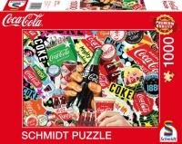 Schmidt 59916 Coca Cola is it! 1000 Teile Puzzle