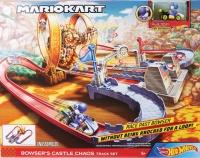 Mattel GNM22 Hot Wheels Mario Kart Bowsers Festung Trackset