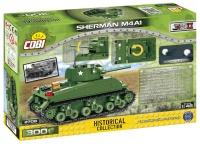 COBI 2708 HC WWII Sherman M4A1 300 Teile Bausatz