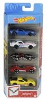 Mattel GTN35 Hot Wheels Corvette 5er Autos Set