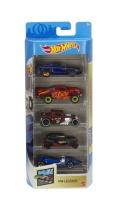 Mattel GTN38 Hot Wheels HW Legends 5er Autos Set