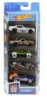 Mattel GTN37 Hot Wheels 68 HW Sports 5er Autos Set