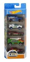 Mattel GTN41 Hot Wheels City 5er Autos Set